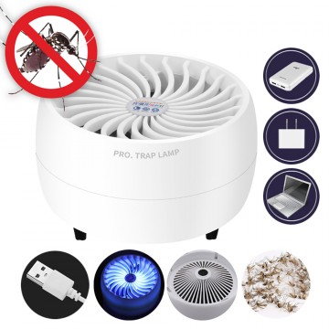 UV 360° Mosquito/Bug/Insect Killer Lamp - Round