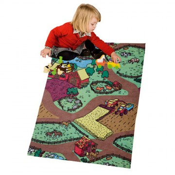 Farm Carpet + 11 Figurines