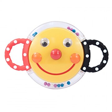 Smiley Face Mirror Rattle