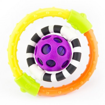 Spin & Chew Flexible Ring Rattle