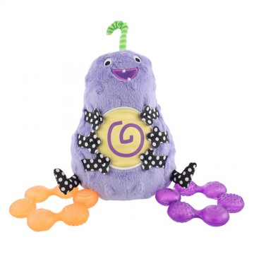 Non-Sters Bum-Pee Plush With Bonus Rattle