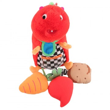 Non-Sters Choo-Chee Plush With Bonus Rattle