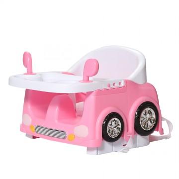 Car Diner Booster Seat - Pink