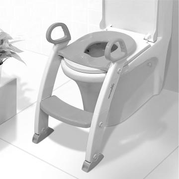 Step Stool Ladder - Toddler Toilet Chair (Grey)