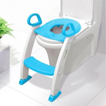 Step Stool Ladder - Toddler Toilet Chair (Blue)