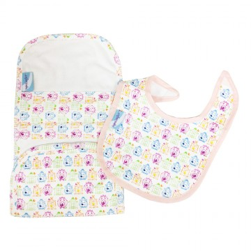 Chi Chi™ Bib & Burp Cloth