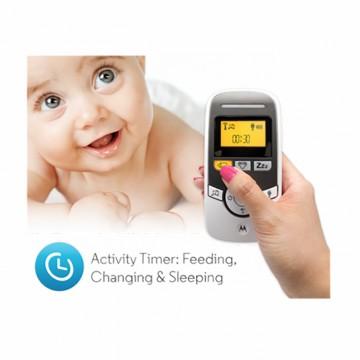 Motorola® Timer Audio Baby Monitor