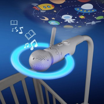 Motorola® Halo+ Over The Crib Baby Monitor & Sleep Companion (WIFI)