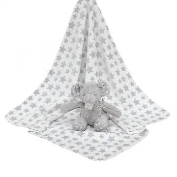 Blanket W/Pals - Elephant