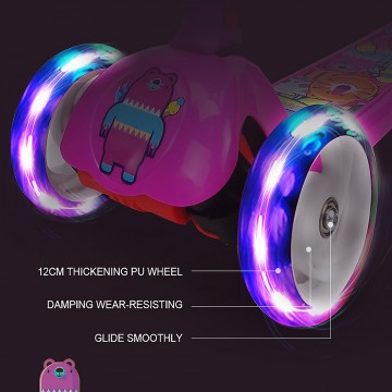Foldable Twist Scooter